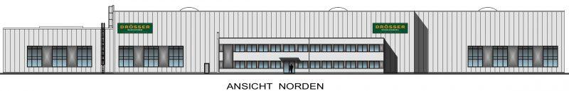 Droesser Hallen Ansicht Norden