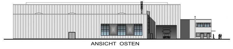 Droesser Hallen Ansicht Osten